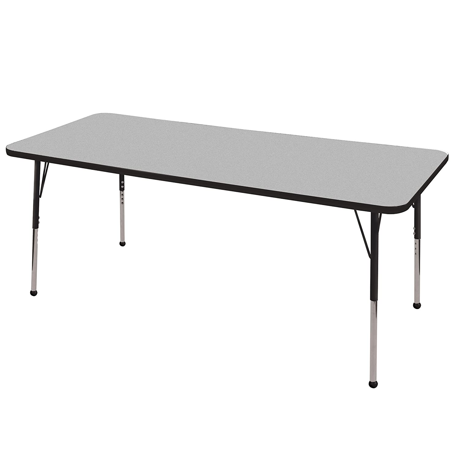 legs board of l steel base top amegawood shaped beautiful particle material adjustable metal contemporary table desk
