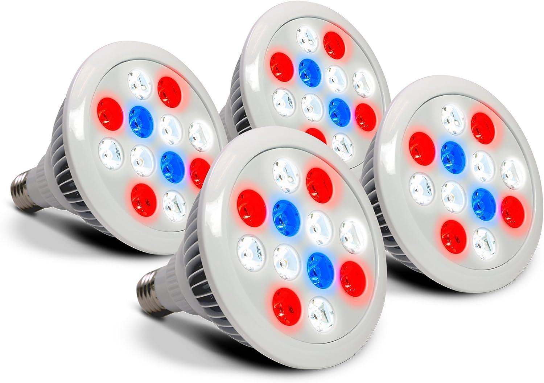 AeroGarden-12watts-LED-Light-4-Pack