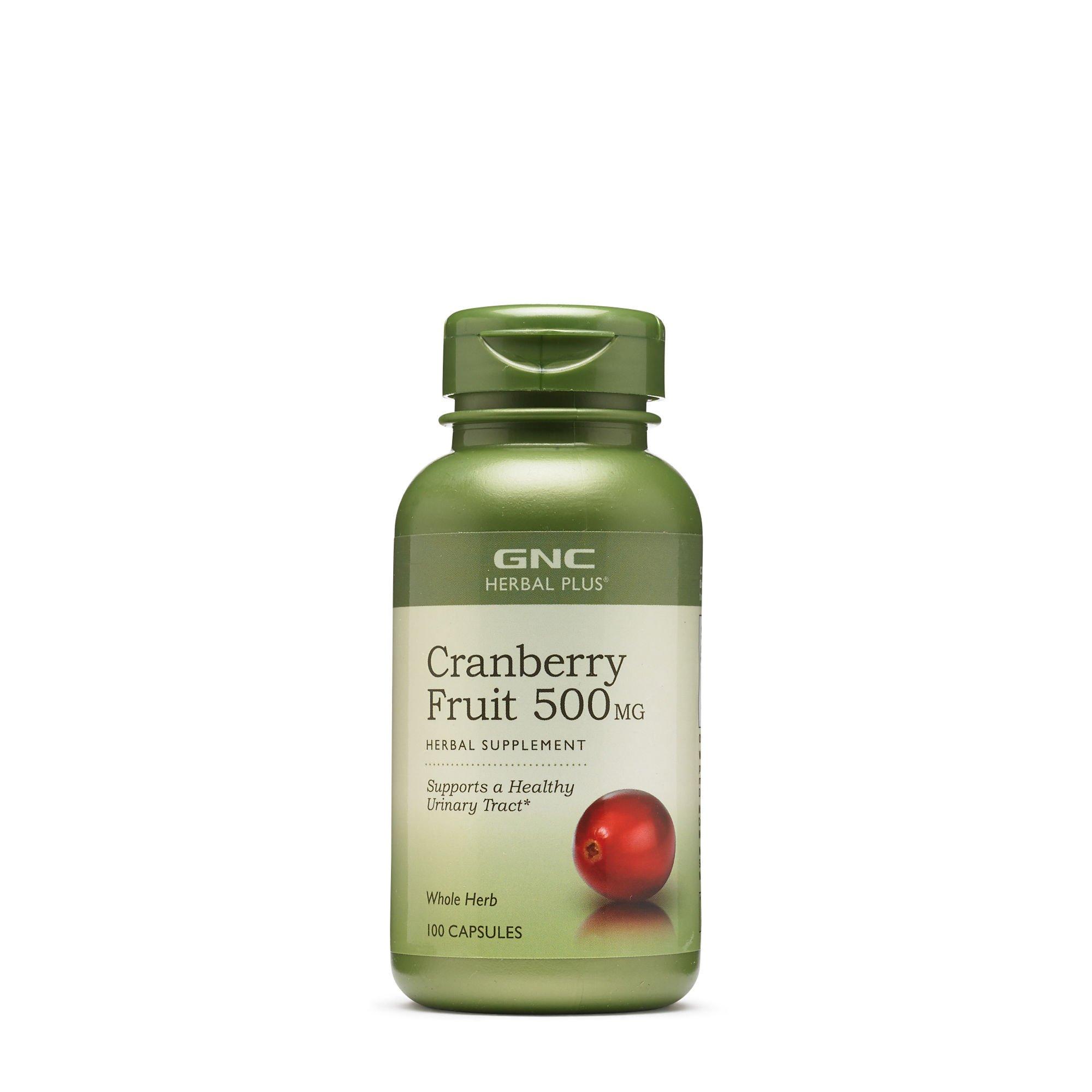 GNC Herbal Plus Cranberry Fruit 500MG 100 caps