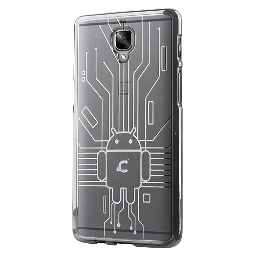 26 opinioni per Cruzerlite OnePlus 3 / 3t Case, Bugdroid Circuit TPU Cassa del Telefono per