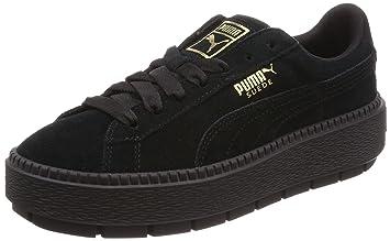 puma platform noir