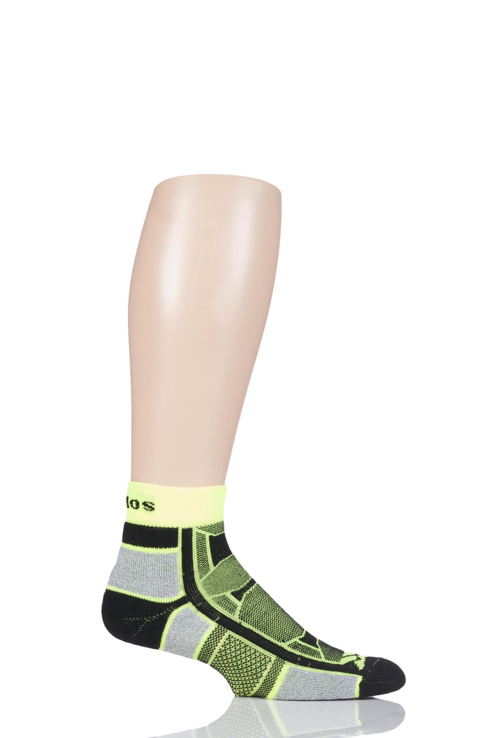 Men's and Ladies' 1 Pair Thorlo Outdoor Athlete Walking Socks - Yellow Jacket 10.5-11.5 Unisex