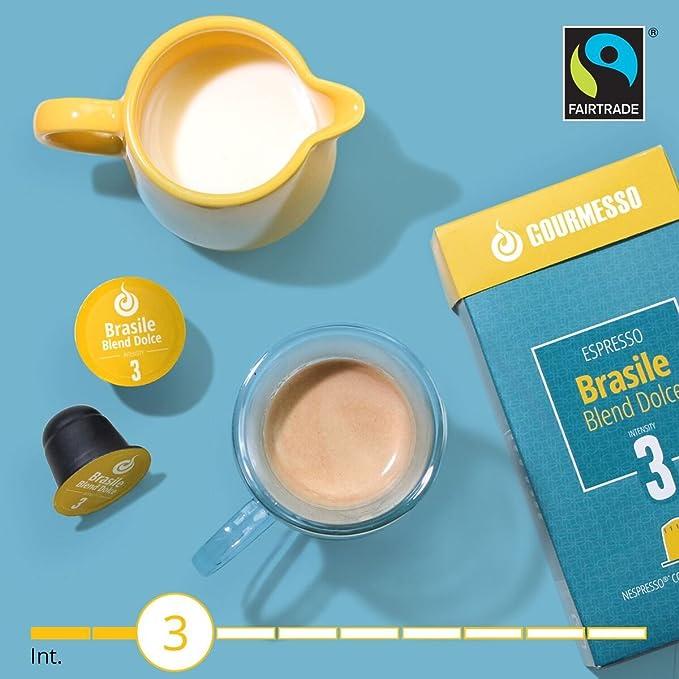 Gourmesso Brasile Blend Dolce (50 Capsulas): Amazon.es: Alimentación y bebidas