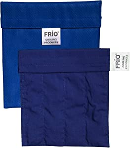 Frio Cooling Wallet - Small-Blue-Keep Insulin Cool up to 45 hrs Without Ever Needing Refrigeration! Accept NO Imitation!-Low Shipping Rates-
