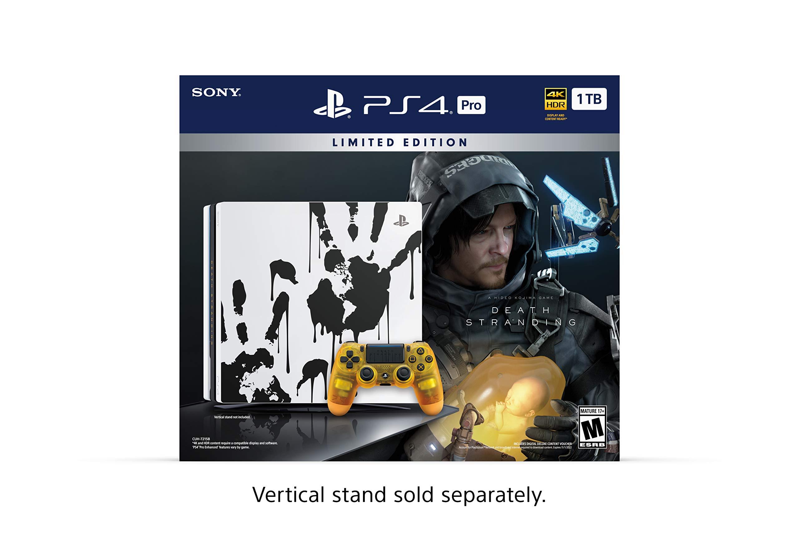 PlayStation 4 Pro 1TB Limited Edition Console – Death Stranding Bundle