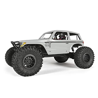 Axial Wraith Spawn 4WD RC Rock Racer Off-Road 4x4 RTR with 2.4Ghz Radio & Waterproof ESC, 1/10 Scale RTR: Toys & Games