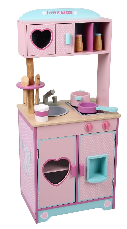 Kleine Kinderküche Holz - Mentari Kinderküche Little Baker