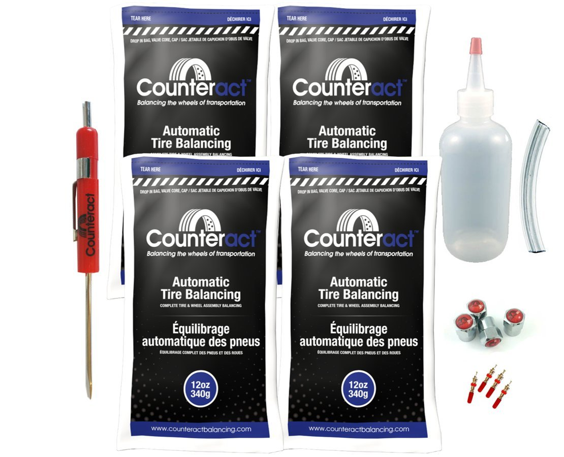 DIYK-12 Counteract Tire Balancing Beads Light Truck/Off-Road - 12oz DIY Kit (48oz) by Counteract