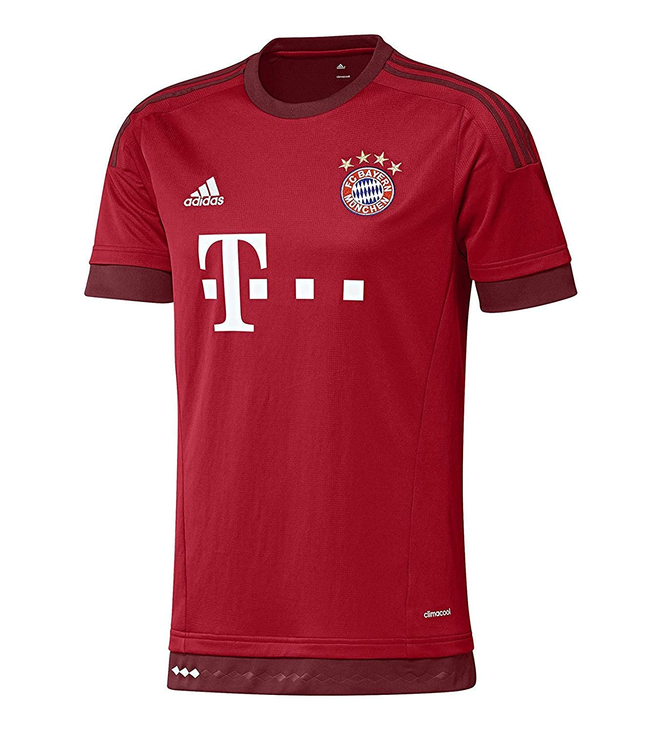ac771f86864 Amazon.com: adidas Lewandowski #9 Bayern Munich Home Soccer Jersey 2015-16  Youth.: Clothing