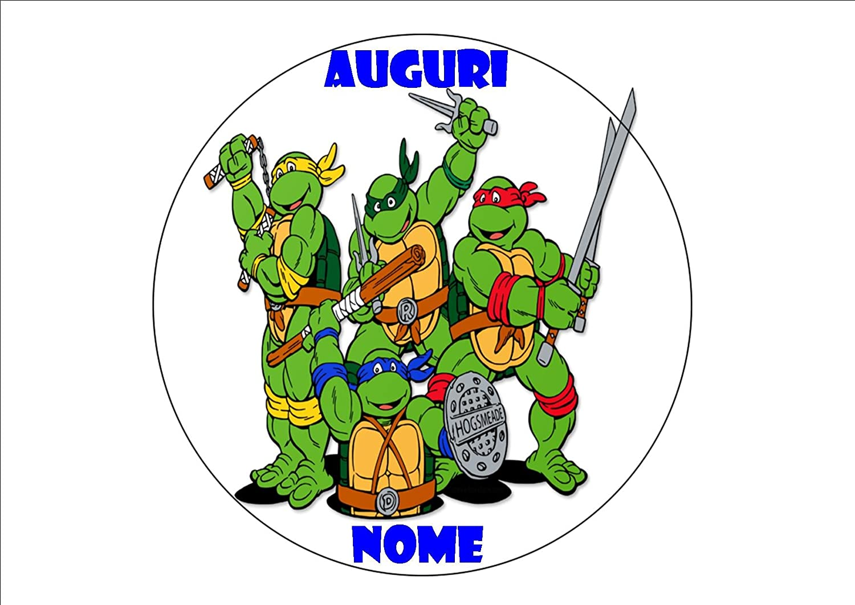 CDC - Oblea personalizable de las Tortugas Ninja para ...