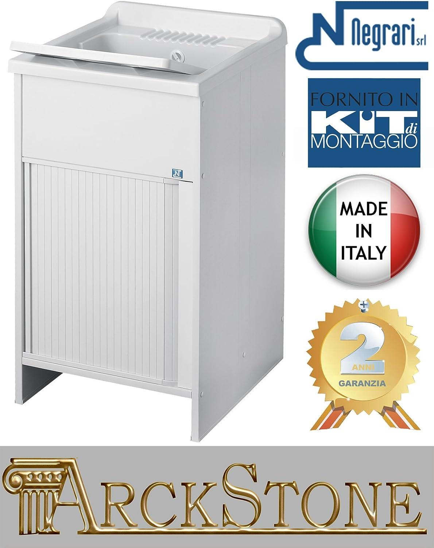 móvil lavado lavadora negrari Kit Roc l45p50h85l50p50h85l60p50h85l60p60h8645x5050x5060x5060x60H85cm blanco Kit montaje puerta deslizante obturador Horizontal interno externo blanco Móvil