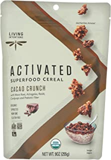 product image for Living Intentions Cereal - Organic - Superfood - Cacao Crunch - 9 oz - case of 6