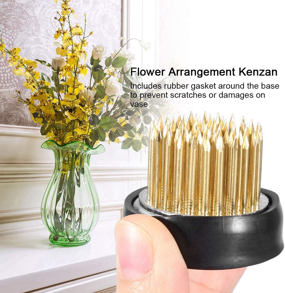 Floral Crafts Flower Arranging Round Vintage Floral Frog Stainless Needle Pin Holder Cushion Crafts Simaytemizlik Com Tr