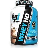 Bpi Sports - Whey HD, Mezcla de Proteínas y Aminoácidos, Sabor Chocolate, 4.2 lbs