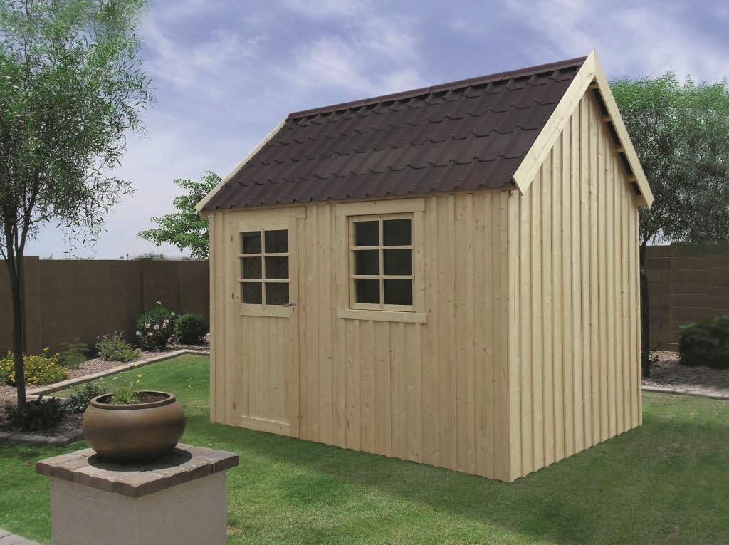 Jardín Casa Betula s8717 – 16 mm listones hogar, superficie: 6,12 M², tejado: Amazon.es: Bricolaje y herramientas