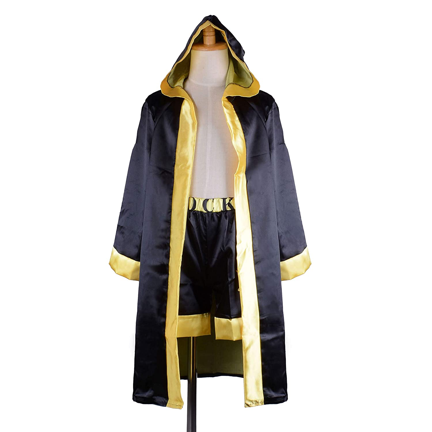 37fe9cf3ff92 Amazon.com  Children Costume Classic Movie Clothes Apollo American Flag  Boxing Robe Hooded Shorts Kids Italian Stallion Suits  Clothing