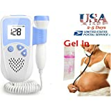 LANSOR Pocket 3MHz Probe Baby Monitor LCD Backlight, Listen to and Record your Unborn Baby Sounds and Movement
