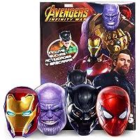 Marvel Avengers Infinity War Libro de Actividades y máscaras increíbles