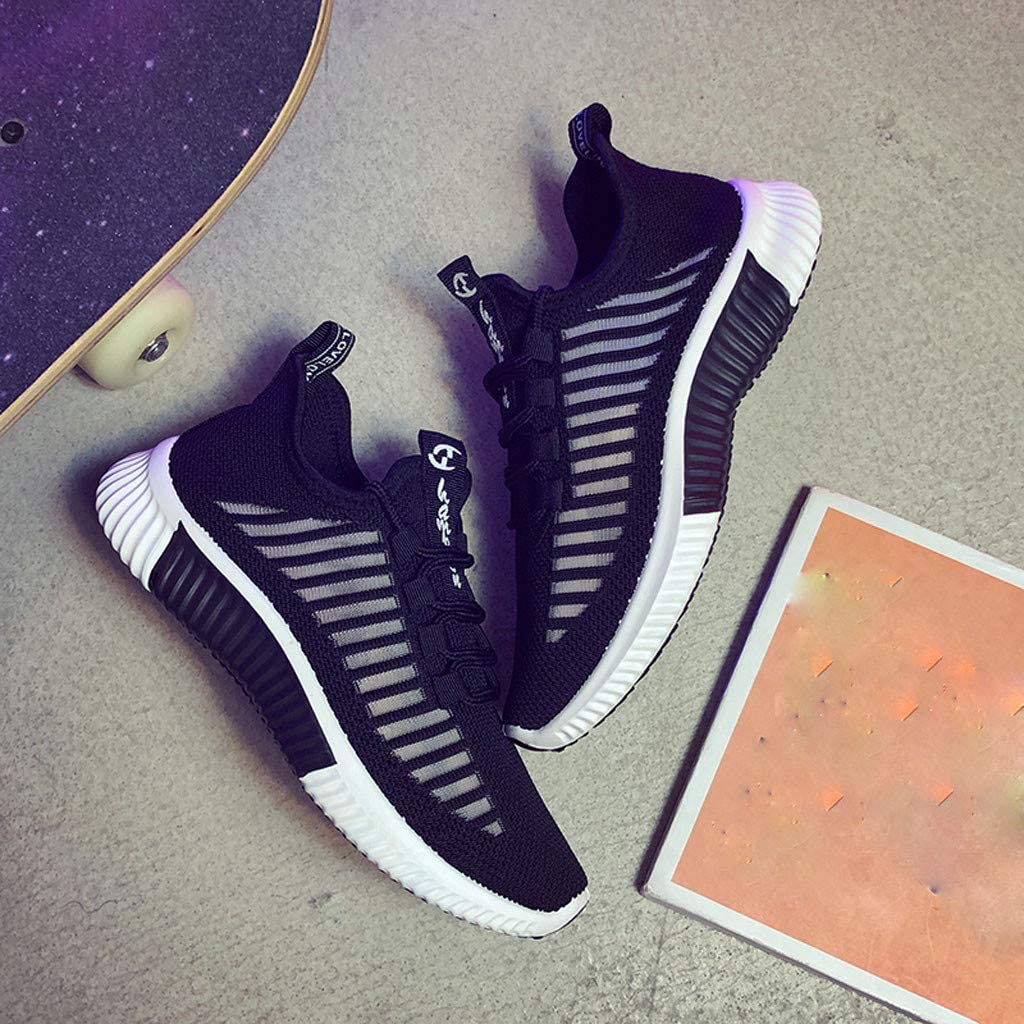 Subfamily Chaussures de Course Running Sport Compétition Trail entraînement Femme Basket Sneakers Outdoor Running Sports Noir