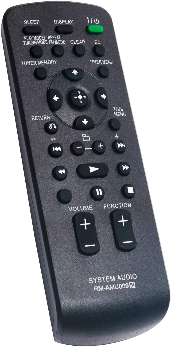 Sony RM-AMU009 Audio Remote CMT-BX20I MHC-EC609IP MHC-EC709IP HCD-BX20I OEM