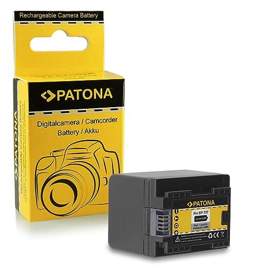 178 opinioni per Batteria BP-727 BP727 per Canon LEGRIA HF M52   HF M56   HF M506   HF R36   HF