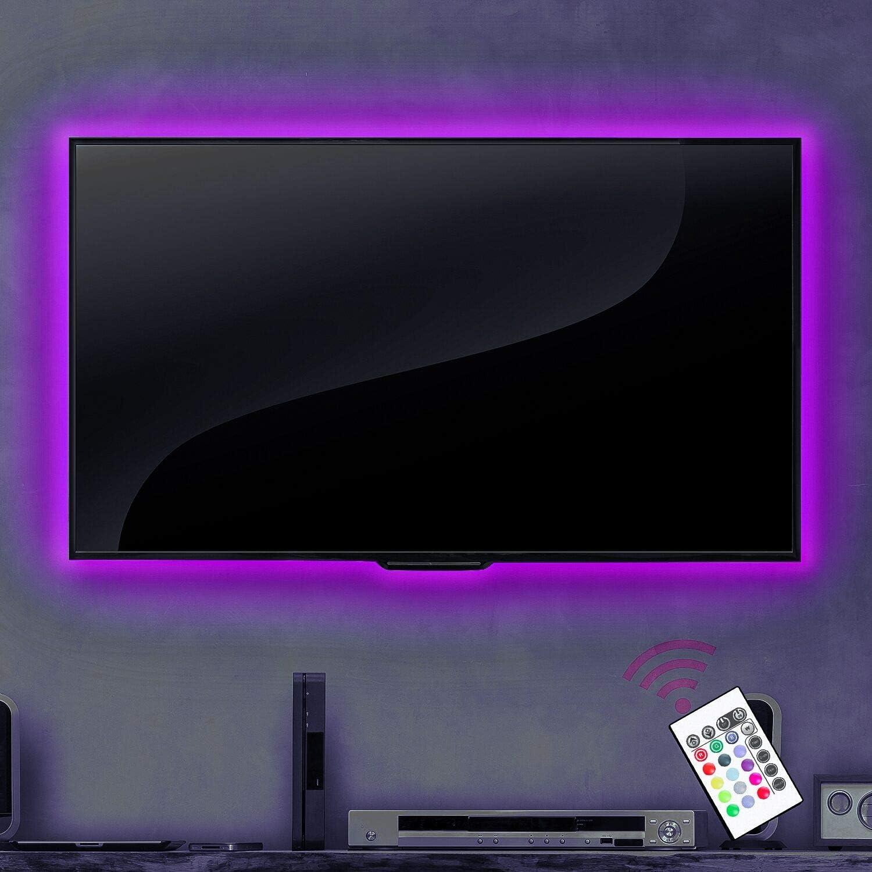 TV luces USB luz LED Tiras Para TV: Amazon.es: Iluminación