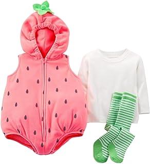 carters baby girls halloween costume baby strawberry 24 months - Strawberry Halloween Costume Baby