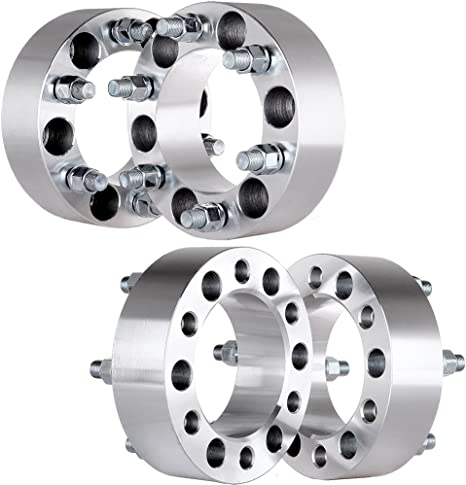 """4X 2/"""" 50mm 6x5.5 Wheel Spacers 14x1.5 for 2002-2005 2004 2003 Chevrolet Astro"""