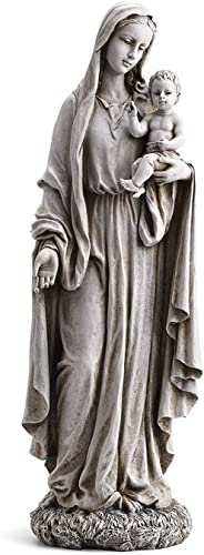 23″ Our Lady of Grace and Baby Jesus Garden Statue