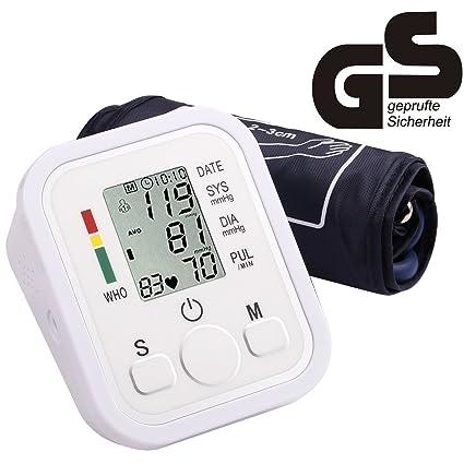 yivans ZK de 869b brazo Tensiómetro vollautomatische presión arterial y pulso Función de advertencia cuando la