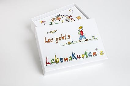 Lebenskarten 2 Von Barbara Völkner 72 Karten Visitenkarten Format 5 5x8 5cm