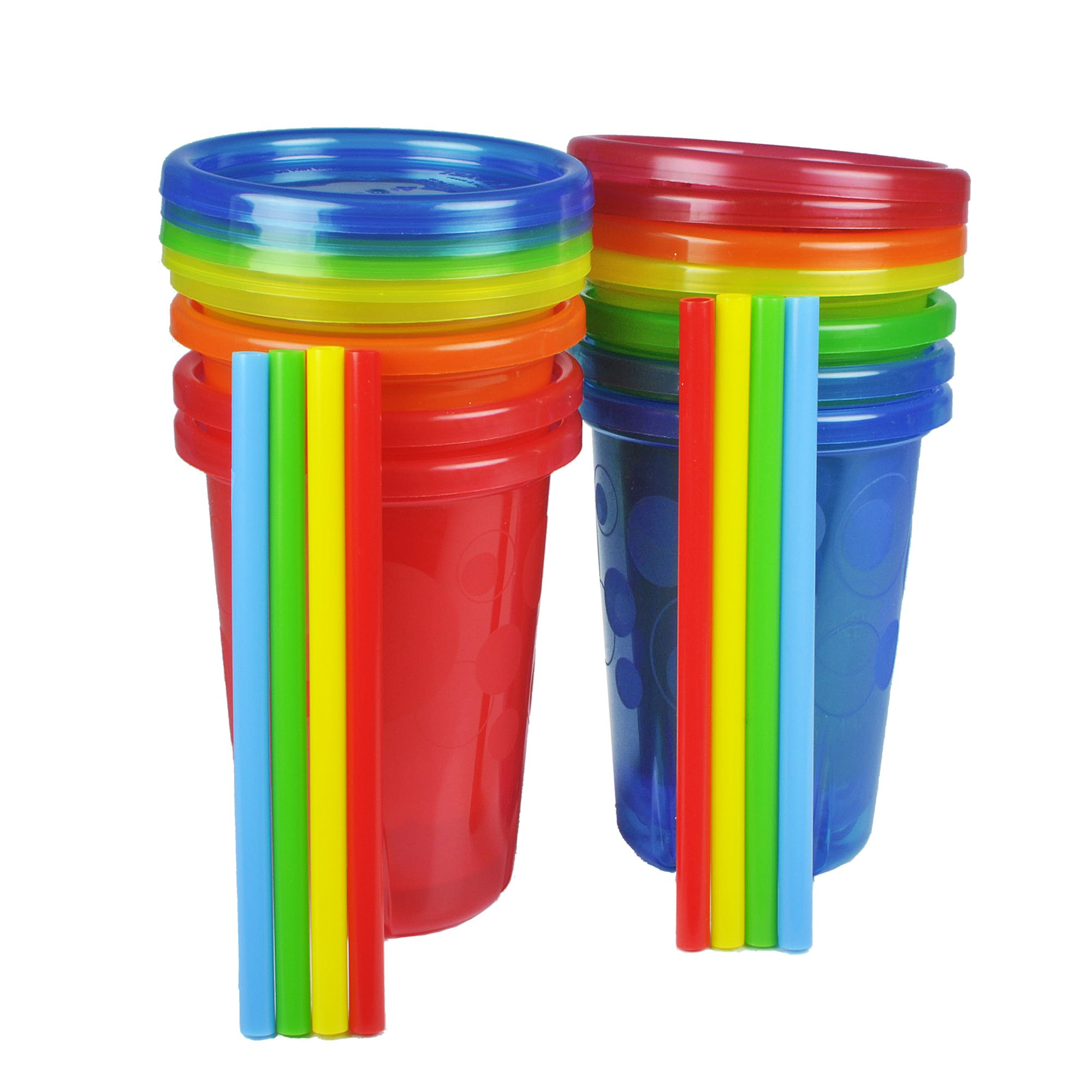 The First Years Straw Cup, Take and Toss, 10 Ounce, 8-Count