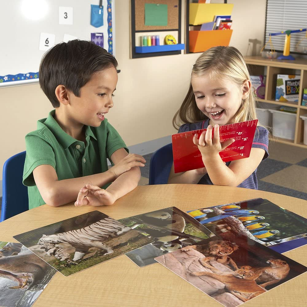 Grades PreK-K Learning Resources Snapshots Critical Thinking Photo Cards