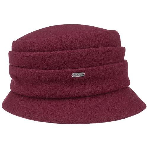Sombrero de Lana Katja by McBURN sombrero de inviernosombrero de mujer (talla única - burdeos)