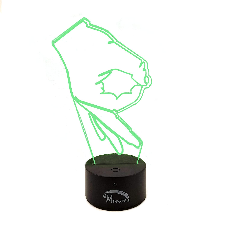 Amazon.com: ¡Tan bien! Gen 2 LED Meme mesa de escritorio ...