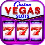 Real Vegas Slots - Free Vegas Slots 777 Fruits Casino Games Classic reel Slot Machine with Freespins Bonus Rounds Jackpot and tournaments Old Vegas Slots style for Kindle and Android Spin and Win!