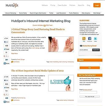 Amazon.com: HubSpots Inbound Internet Marketing Blog ...