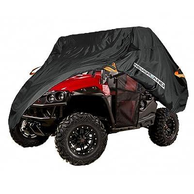 UTV Cover, Waterproof Heavy Oxford Material for Polaris RZR Yamaha Rhino Can-Am Defender Honda Pioneer Kawasaki Mule Teryx 2-3 Passenger: Automotive