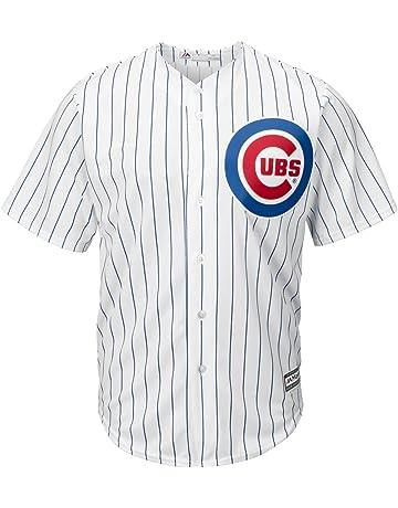 MLB Chicago Cubs Majestic Replik Cool Base Heim Trikot Sport Shirt Top Kinder