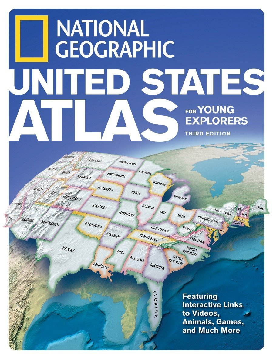 Read Online National Geographic United States Atlas for Young Explorers, Third Edition pdf epub