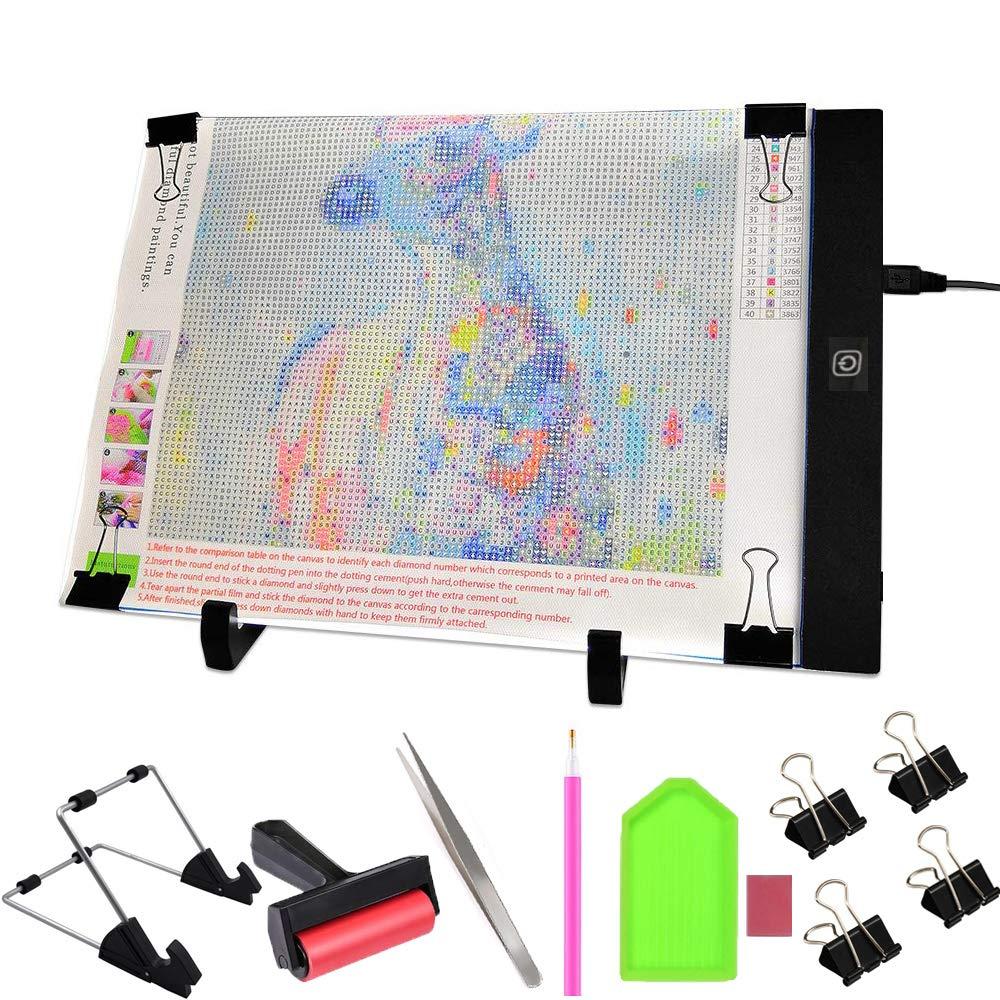 Professional A4 LED Light Tracing Tattoo Board Drawing Pads Tools Kits