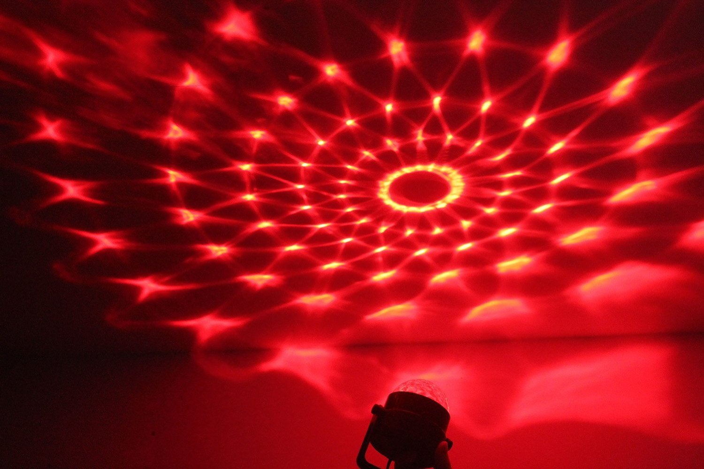 halloween party lighting. amazoncom spriak party lights disco ball 3w led sound actived strobe stage christmas halloween rgb par light lighting musical instruments