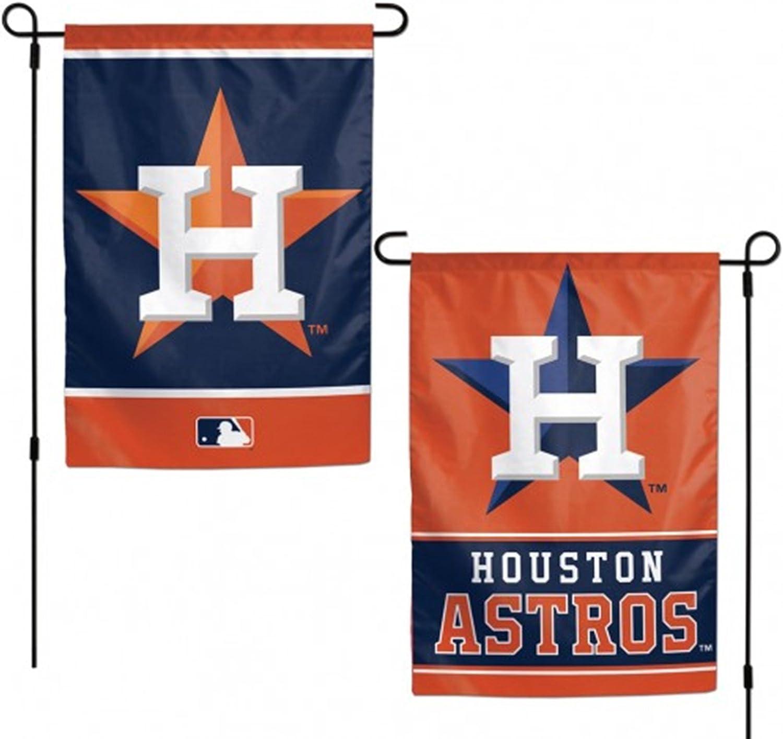 Stockdale Houston Astros WC Garden Flag Premium - Pancarta de béisbol de 2 Caras para casa al Aire Libre: Amazon.es: Deportes y aire libre