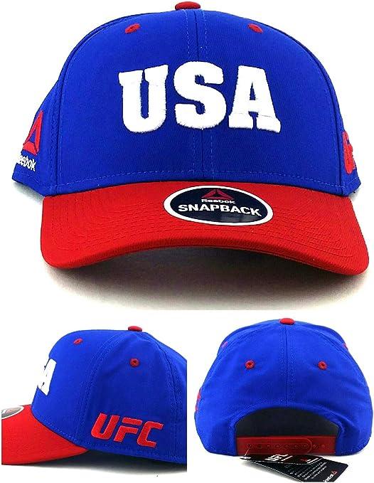 Reebok MMA, UFC – Camiseta, Color Azul, Rojo y Blanco Estados ...