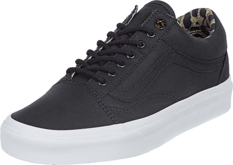 Vans Old Skool Reissue Calzado 6,5 black: Amazon.es: Zapatos
