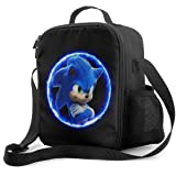 Portable Insulated Lunch Bag Sonic Lunch Box Cooler Tote Bag Lunch Sack