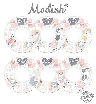 Amazon.com: Modish etiquetas bebé Nursery separadores, de ...