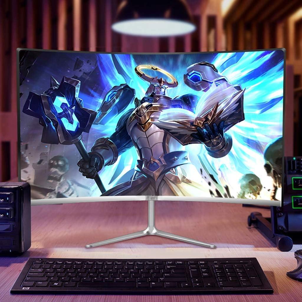 Moniteur HD Écran D\'ordinateur LCD HDMI, IPS Accueil Café Internet Écran De Bureau, Écran LED Écran des Yeux Bleu Clair (Color : 24 inches) 20 Inches