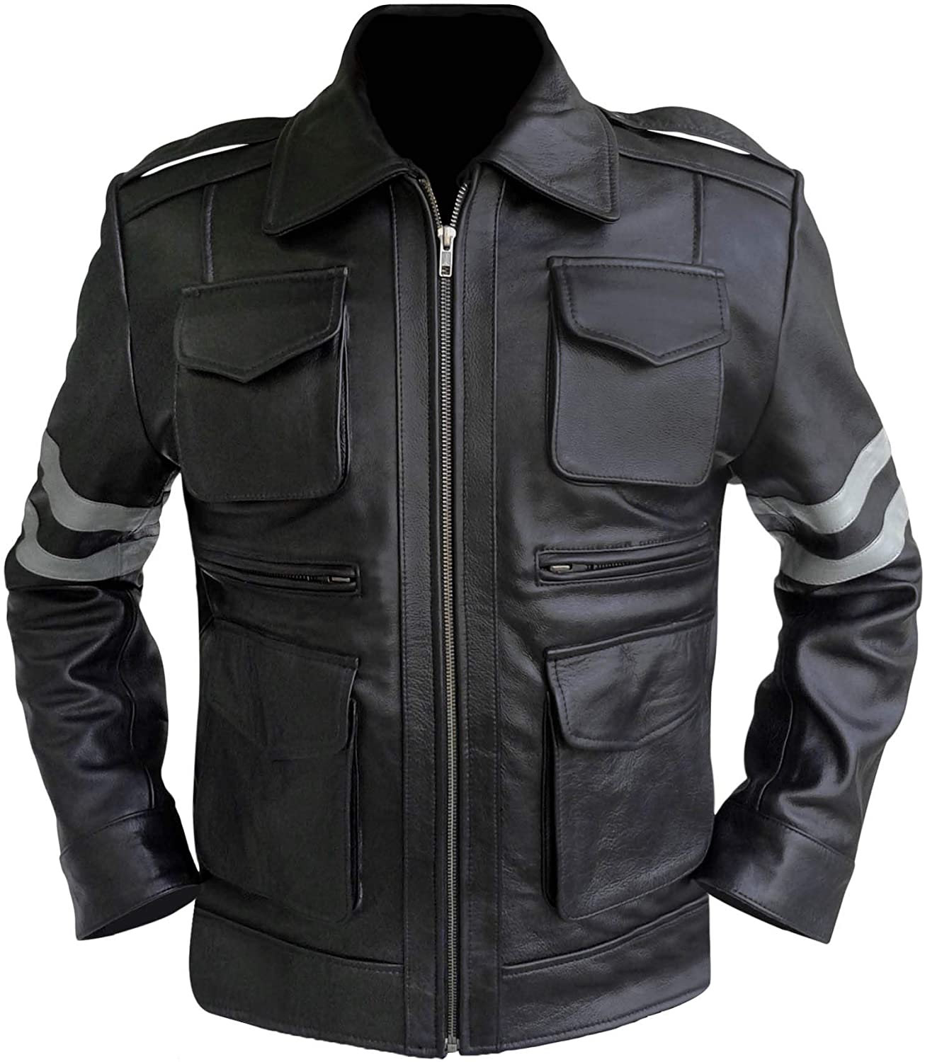 Gamer Resident Evil Classic Leon Kennedy Re6 Leather Jacket At