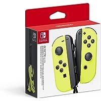 Paire de manettes Joy-Con gauche/droite pour Nintendo Switch - jaune néon